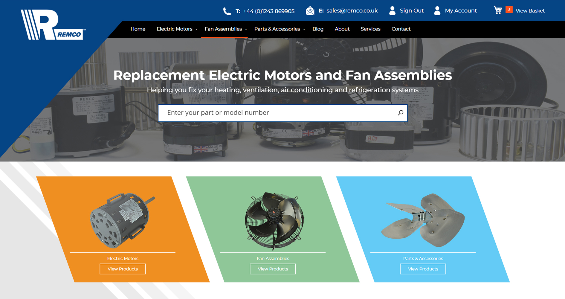 REMCO Launches New E-commerce Website